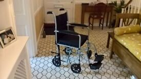 Folding transit wheelchair - good condition