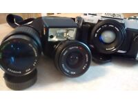 Minolta x 300 camera and lens package