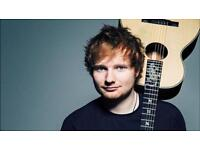 2 X Ed Sheeran Standing Tickets for Newcastle on the 19th April