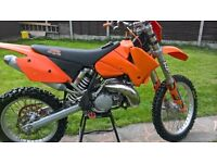 Here's my Ktm 300 exc 2005, selling because I never get chance to ride it always working
