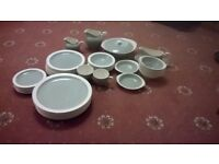 Wedgewood eturia 'wintergreen' dinner service