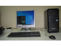ZooStorm intel G860 ,3.00GHz, Wins10 Pro, 4Gb Rams, WiFi, LCD, full setup, read ad for full details