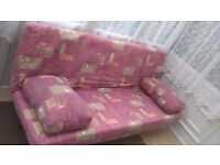 Double Sofa Bed Click Clack style