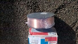 LARGE ROLL OF MIG WELDER WIRE NEW UNOPENED SIZE 1 MM