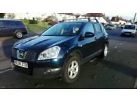 2008 Nissan Qashqai 2.0 hispec low mileage dark blue
