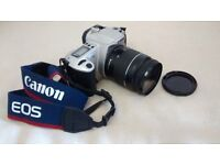 Canon EOS 300 film / analogue camera, in very good condition, with 2 lenses, filter and 2 bags