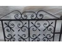 Ornate Iron Gates