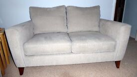 Immaculate 18 month old 2 seater settee & snuggler