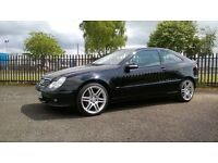 Mercedes C-class C160 Kompressor SE;+ 1 Year MOT, Warranty, Full service history, AMG alloys.