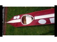 Racing kayak WWR