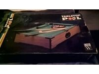 table pool table