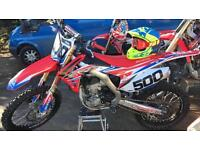 2016 Honda CRF250 Mint Condition