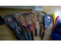 Tennis Racquets etc