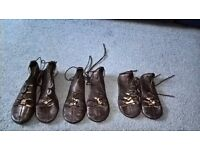 Highland dancing ghillie shoes - various sizes