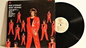 Rod Stewart – Body Wishes / Warner Bros. Records – 92-3877-1 / Vinyl, LP, Album / 1983