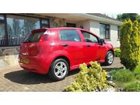 2007 fiat punto grande 1.4 full mot cheap car (not vauxhall ford volkwagen Renault honda kia hyundi)