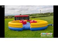 Airquee Gladiator Dual Bouncy Castle