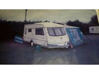 Award Transtar Luxury 2 Berth Caravan Complete with Full Size Awning plus Additional Awning Annexe