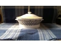 WEDGWOOD SAMURAI VEGETABLE TUREEN WITH LID - NEW