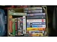 50 VHS Video Tapes Comedy Films Kids