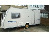 bailey ranger caravan 2006 model 2 berth
