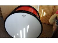 Andante Bass drum and matching tennor drums