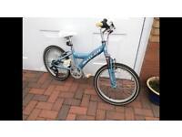 "CLAUD BUTLER 20"" Girls Baby Blue Bike paid £200"