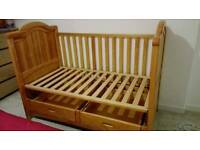 Mamas and papas toddler bed frame