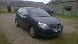 2008 VW Polo 1.2e. FSH only 34k miles and 12 months MOT