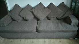 Sofa - 4 Seater - Removable Covers