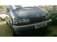 Toyota previa 1996. Faulty engine.