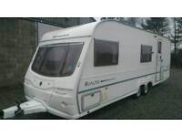 Avondale rialto 640/6 2004 21ft 6 berth fixed bunk beds caravan