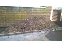 Free soil, would approx half fill a builders ton bag. Soil has some stones and small amount of bark.