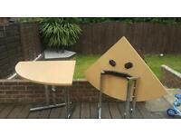 2 folding desks office/home