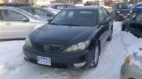 2005 Toyota Camry SE//SE 4dr Sedan.ONE OWNER RUST FREEEEEEEEEE