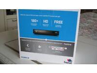 Freesat HD with Freetime sat box.