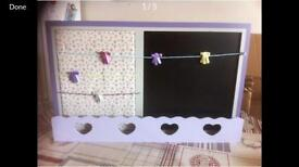 Kids notice board/ chalk board