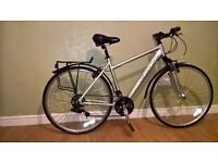 Carrera Crossfire hybrid bicycle full recent service fully working