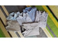 Men Shirts short and long sleeves Size M 40 170/176