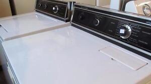 Ensemble laveuse et sécheuse modèle solide et durable