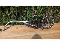 TREK 20 mountain train pedal bike trailer / tagalong