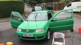 Volkswagen VW Polo Mk3 Facelift 1.4 16V (multivalve) S model / £1399 ONO