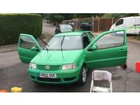 Volkswagen VW Polo Mk3 Facelift 1.4 16V (multivalve) S model / £1399 ONO