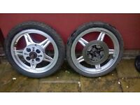 Honda Superdream CB250/400 Wheels and Tyres