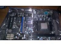 AMD Phenom II x6 1090T Black edition w/ MSi Mobo
