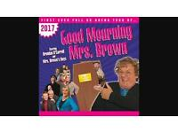 2 x Tickets Good Mourning Mrs Brown (Cardiff)