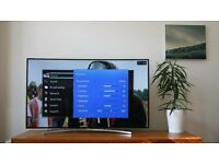 """**CURVED** Samsung H8000 55"""" 8 Series Smart 3D TV -1000hz- FREEVIEW/SAT HD -WIFI-"""