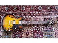 Epiphone ES-339 guitar in Vintage Sunburst, Excellent condition