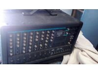 Peavey xrd 680 amp with 2xt hisys speakers