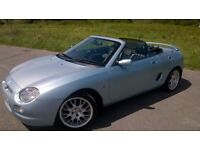 MGF se (only 500 made)in this Wedgewood blue color..